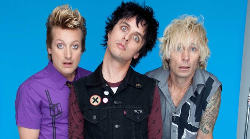 Green Day 2012 Blue Bang